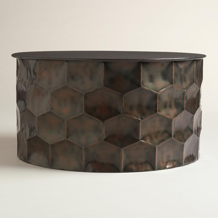 Coffee Table Cala Hammered Coffee Table World Market Round: Side Tables Images On Pinterest