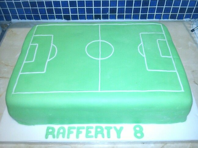 Cake Decorations Football Team : The 25+ best Football pitch cake ideas on Pinterest ...