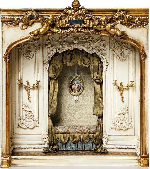 Miniatures by June Clinkscales Dollhouse Furniture | Cieux Bisou