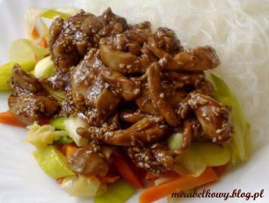 Kurczak z sezamem po chińsku