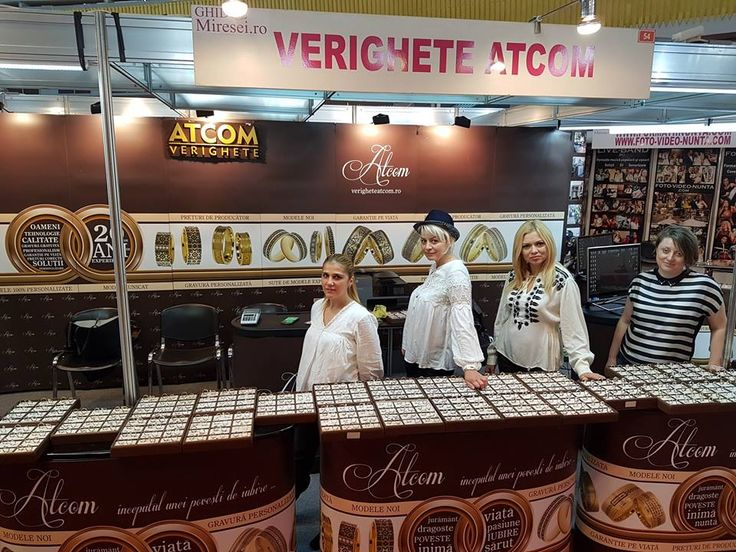 Multumim tuturor celor care au vizitat standul Verighete ATCOM! Multumiri speciale celor care au avut incredere in noi, devenind clientii nostri! Echipa ATCOM http://www.verigheteatcom.ro/