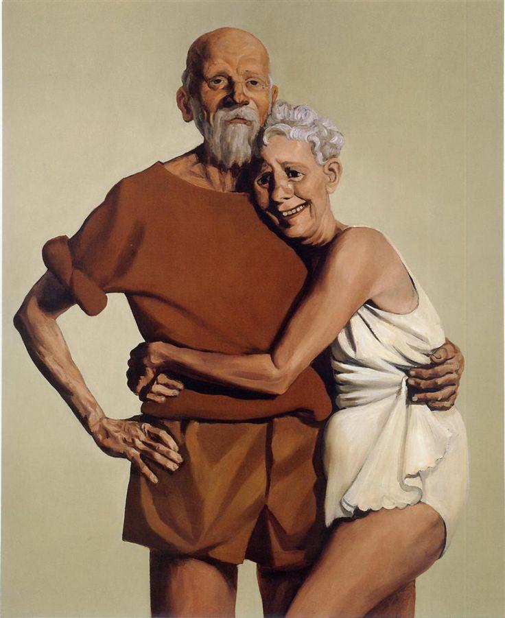 JOHN CURRIN http://www.widewalls.ch/artist/john-currin/ #JohnCurrin #contemporaryart #paintings