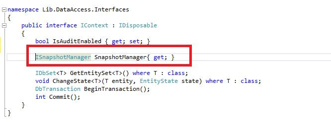 Implementing Undo/Redo feature for DbContext of Entity Framework - CodeProject