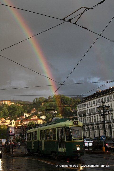 #Torino 29 aprile 2014 #arcobaleno #spaziotorino