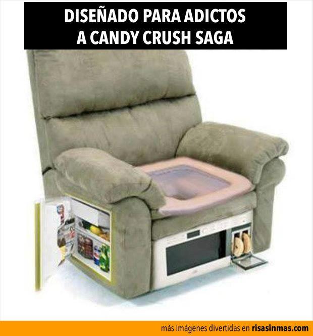 Diseñado para adictos a Candy Crash Saga. Un regalo útil para varios....jajaja