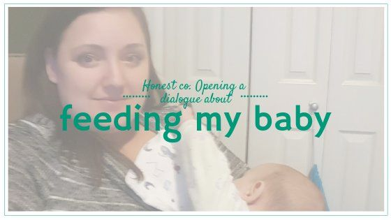 The Honest Co. Is encouraging dialogue between moms about the deeply personal act of feeding our babies. Read my experiences nursing and feeding three boys.