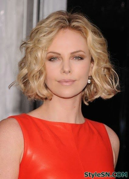 Curly Bob Hairstyles for Women -StyleSN