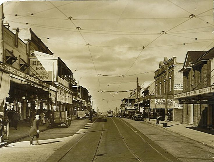 Marrickville Rd, Dulwich Hill, 1936