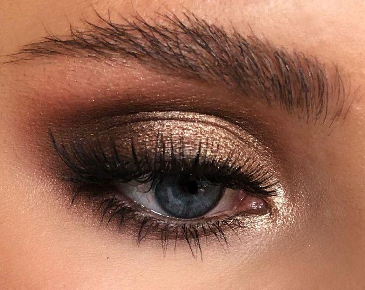 макияж в картинках коричневые тени опубликовало