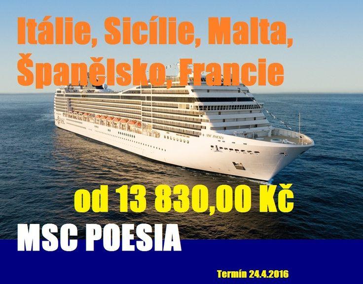 Okružní plavby na výletních lodích msc cruises