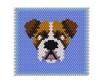 ThreadABead Boxer Dog Panel
