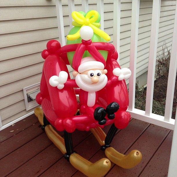 119 Best Christmas Balloons Images On Pinterest
