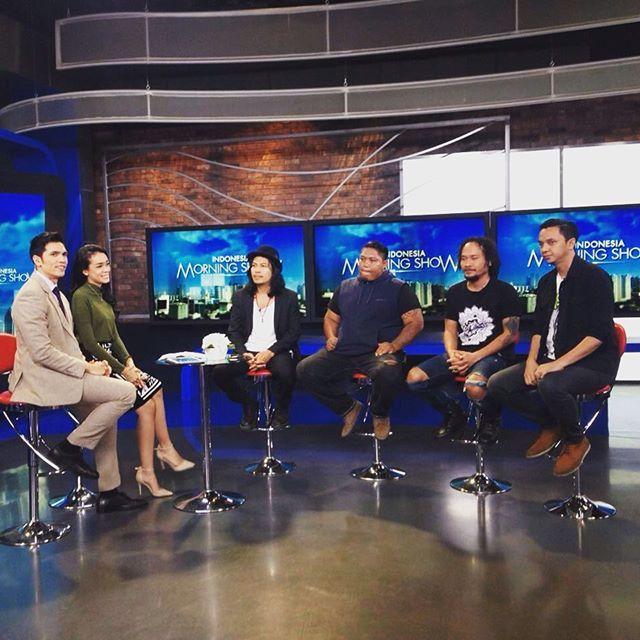 Interview tentang 20 tahun Navicula di IMS, NET TV #20thNVCL