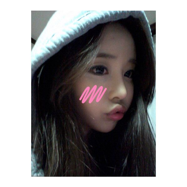 ulzzang ❤ liked on Polyvore featuring song ah ri