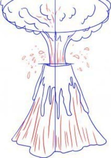 Imagenes De Volcanes Para Dibujar Sus Partes Dibujos