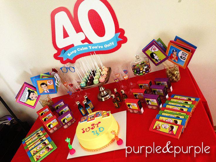40 yaş doğum günü | Yetişkin Partileri | Parti Fikirleri | Parti Temaları | 40th birthday