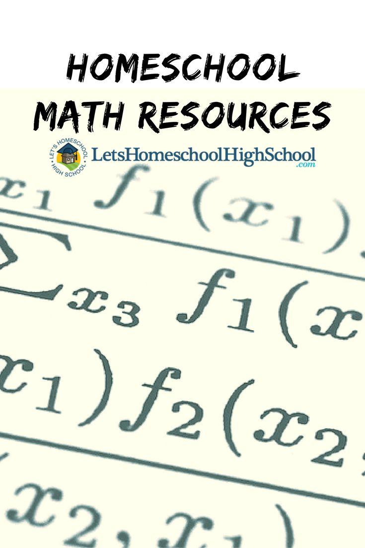Best math homeschool high school images on pinterest
