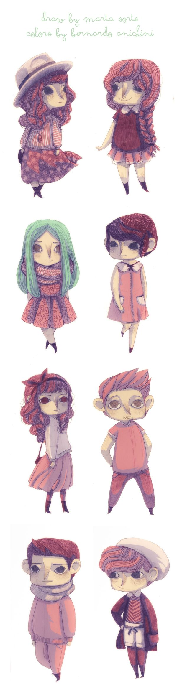 daily characters on Behance    ★    CHARACTER DESIGN REFERENCES™ (https://www.facebook.com/CharacterDesignReferences & https://www.pinterest.com/characterdesigh) • Love Character Design? Join the #CDChallenge (link→ https://www.facebook.com/groups/CharacterDesignChallenge) Share your unique vision of a theme, promote your art in a community of over 50.000 artists!    ★