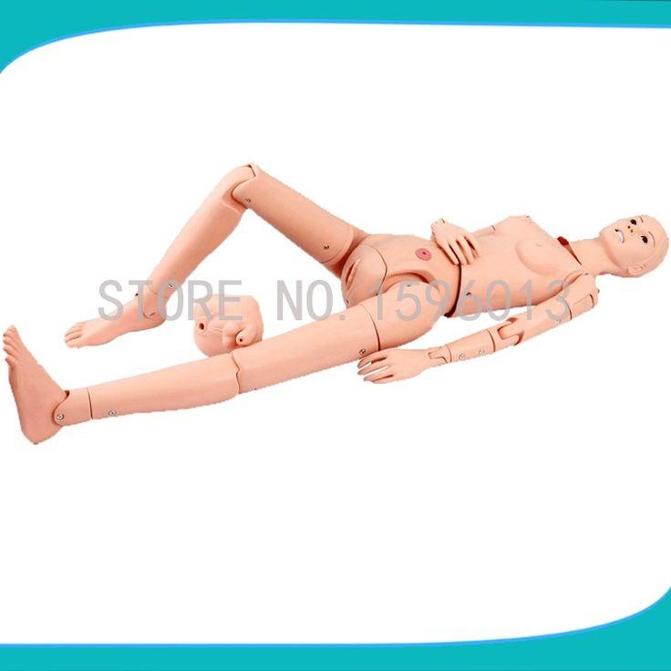617.50$  Watch now - http://ali51a.worldwells.pw/go.php?t=32700761942 - Advanced Multifunctional Nursing Training Doll,Multi-functional Nursing Manikin,nursing mannequin