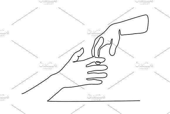Line Drawing Holding Hands Line Drawing Continuous Line Drawing Drawings
