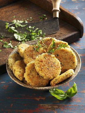 Karbanátky z jahel jsou zeleninovou alternativou těch klasických masových; isifa