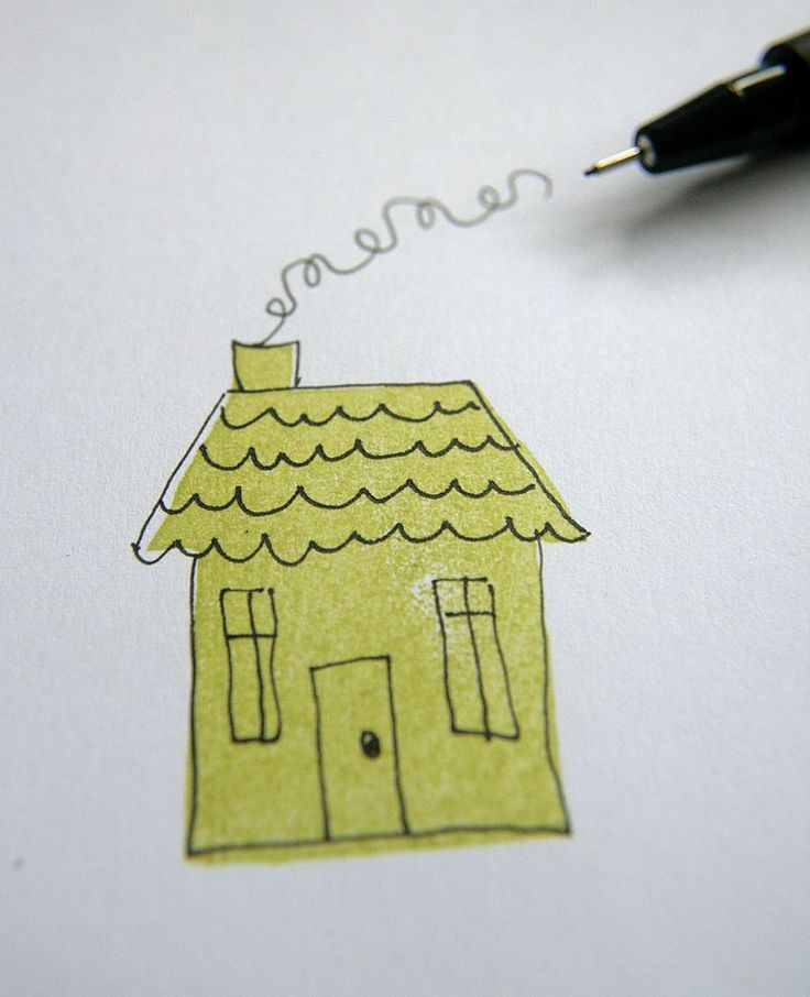 How to make your own stamp from an eraser & then add details onto the stamped image with a regular pen! Fabulous idea! And fabulous photo tutorial too!