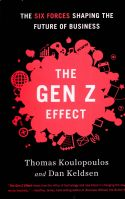 Cultural Gen Z (the generation born ten years before or after 2005) is changing the world. In The Gen Z Effect, however, Thomas Koulopoulos and Dan Keldsen show how a person's year of birth does not need to govern his or her identity. By embracing the principles of Gen Z, anyone can take advantage of these benefits. Gen Z may just mean the end of generational divides.