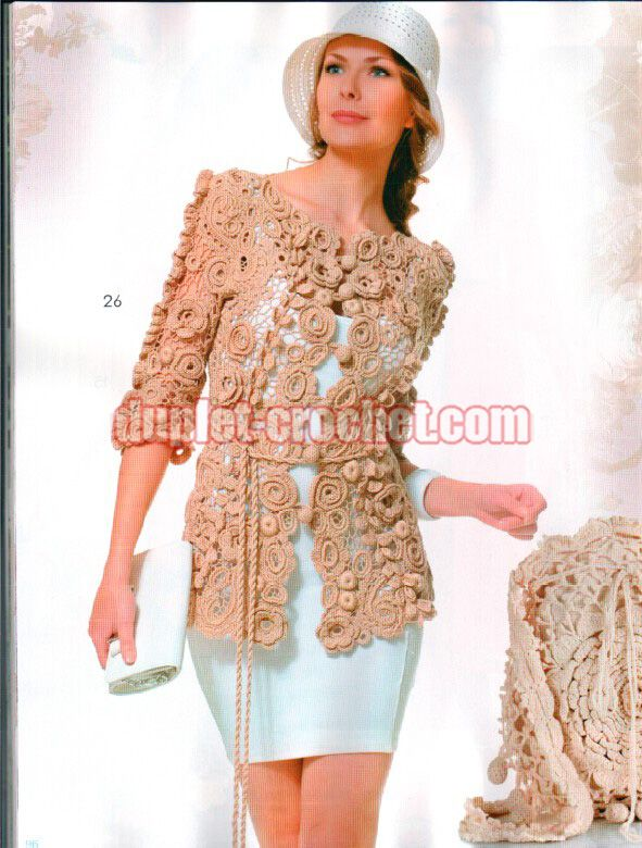 July 2015 Journal Jurnal Zhurnal MOD 587 Russian crochet n knit patterns book