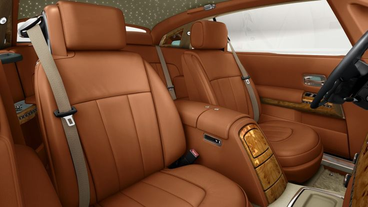 Follow seats and main interoir bespoke leather 3.