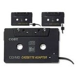 Coby CA-747 Dual Position CD/MD/MP3 Cassette Adapter (Electronics)By Coby