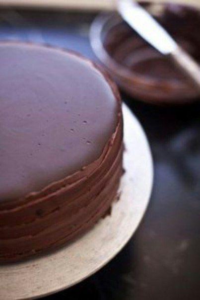 Двухслойный чизкейк с желе в шоколадной глазури  / Дети - это счастье!