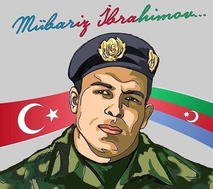 Mübariz İbrahimov in 2020 | Azerbaijan flag, Baseball cards, Portrait