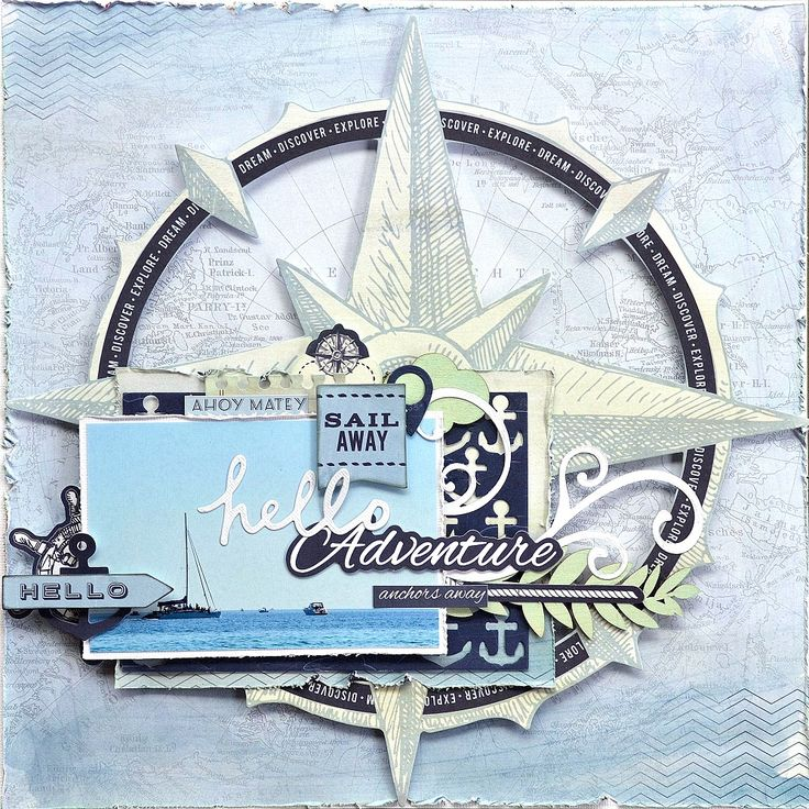 Love this! Kaisercraft Sail Away & Belinda Spencer