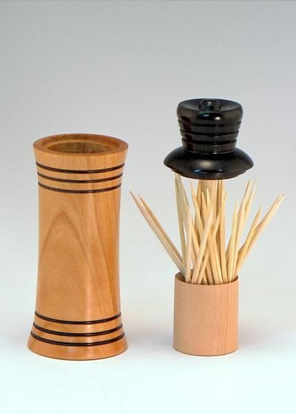 Best 25 woodturning ideas ideas on pinterest woodturning wood turning projects and wood lathe - Pop up toothpick dispenser ...