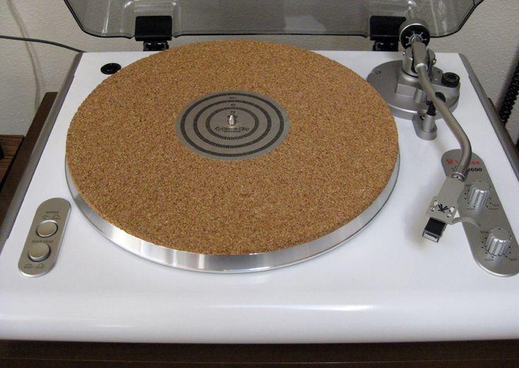 Vinyl Reprise: DIY Cork Turntable Mat in 30 Minutes