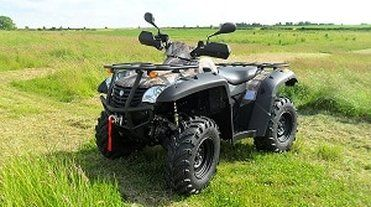 Terrain 600 quad bike. ATV and farm quad bikes from Quadzilla for smallholder farmers. 4WD system ideal for towing ATV trailers, paddock cleaners, paddock toppers, flail mowers, chain harrows. For more info:  http://www.fresh-group.com/farm-quad.html