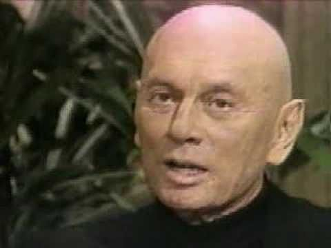 Yul Brynner - Anti-Smoking Commercial.  This commercial aired after Yul Brynner's death.    Now that I'm gone, I tell you: Don't smoke, whatever you do, just don't smoke.  Produced by the American Cancer Society.