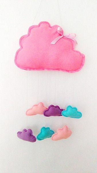 Chmurka deszczowa  - Asia-Bialas - Dekoracje pokoju dziecięcego