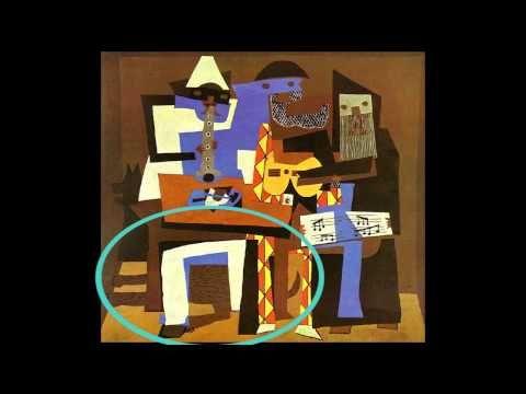 Art Room Videos: Pablo Picasso: Cubist Art Lesson