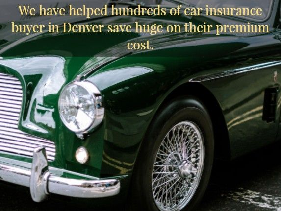 Car Insurance in Denver Colorado is just a phone call away or clicks, compare rates, and save $459 a year on your car insurance today. We have analyzed years of car insurance data to get a list of five insurance companies offering the cheapest car insurance rates in Denver Colorado area.