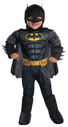 Rubie's Costume DC Comics Toddler Deluxe Batman Costume, X-Small,