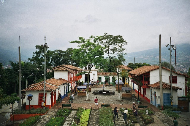 Colombia - Pueblito Paisa, Medellin Antioquia.