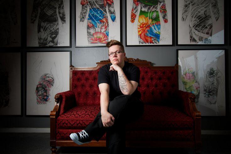 Tatuerare porträtt/ Portrait tattoo artist