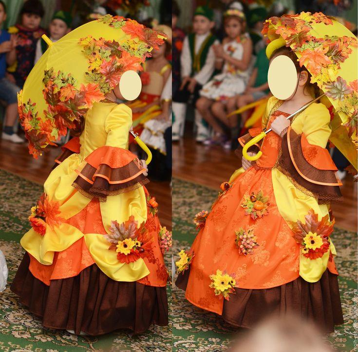 Купить Детский карнавальный костюм Леди Осень - костюм для девочки, костюм для фотосессии, костюм детский