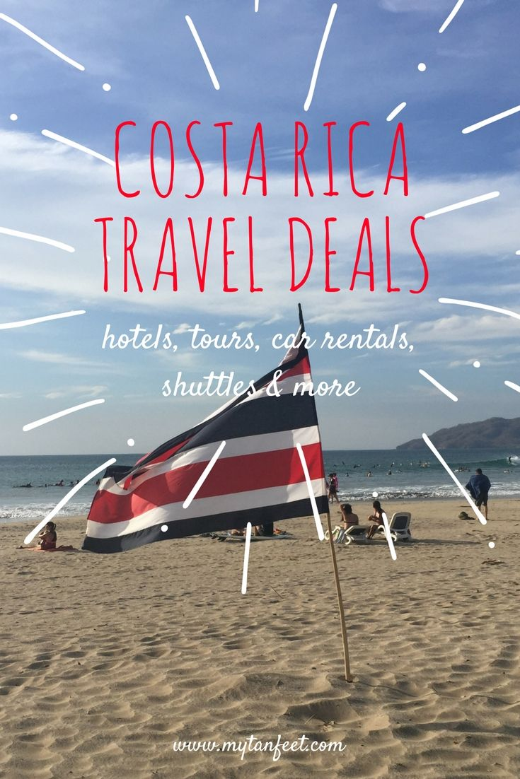 Save money traveling in Costa Rica with our travel deals. Discounts on hotels, tours, car rentals and shuttles. Get it here: https://mytanfeet.com/costa-rica-exclusive-benefits-and-discounts/