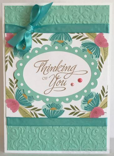 #CTMHfromtheheart- Thinking of You - Sympathy Card- Inspired Paper Crafts - Watermarked