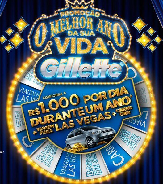 Promoção Gillette – O Melhor Ano de Sua Vida.