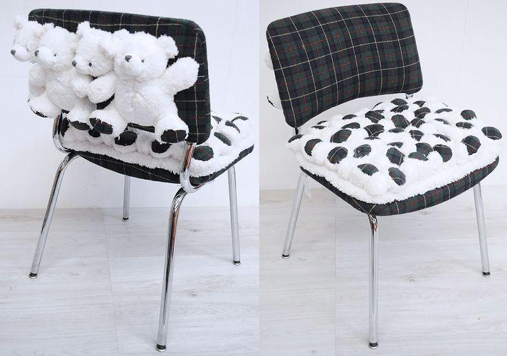 Chaise et peluches pour style très personnel par ATELIER D'éco SOLIDAIRE