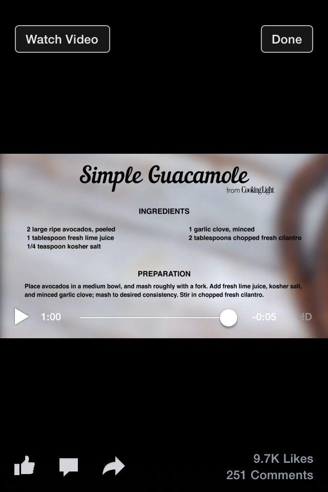 Guacamole   healthy food   Pinterest   Guacamole