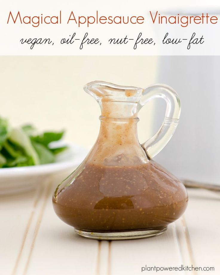 YES, this salad dressing is oil-free, low-fat, nut-free, vegan... AND delicious…